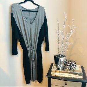Caslon Dolman Sleeve Stretch Knit Dress